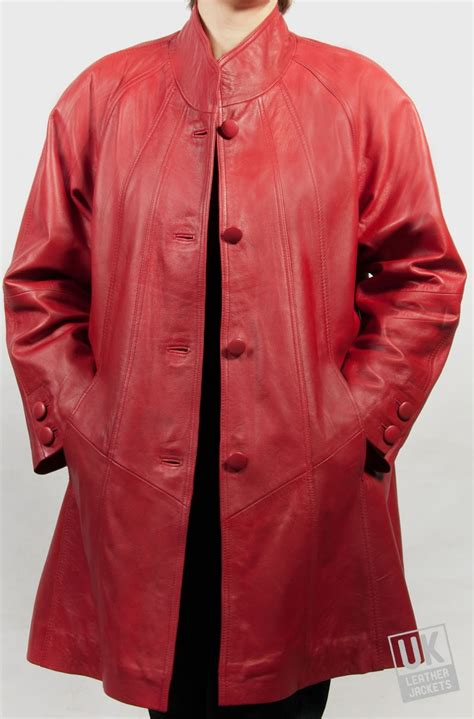 red leather swing coat womens red leather swing coat jewel uk lj