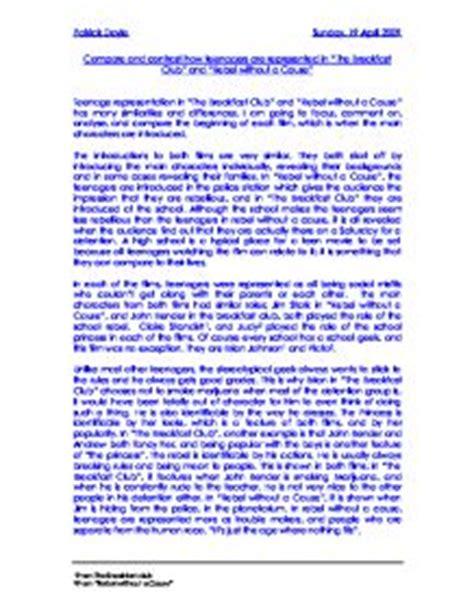 The Breakfast Club Essay by Breakfast Club Essay South Florida Painless Breast Implants By Dr Paul Wigodasouth Florida