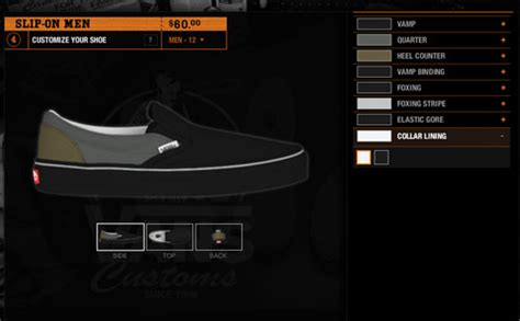 vans design your own design your custom vans