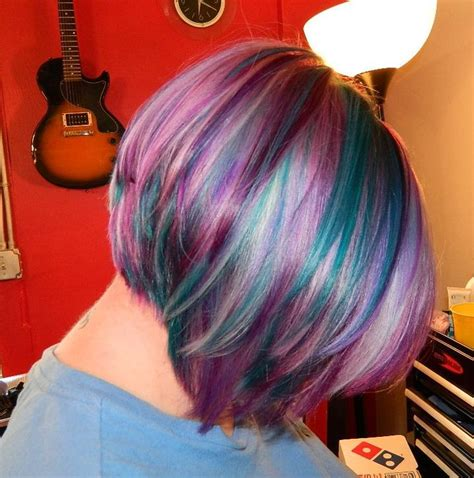pictures of chroma vivid hair colors pravana vivids color silver green magenta and purple