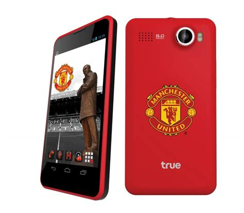 united contact thai telco true launches special manchester united phone