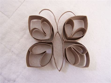 Toilet Paper Origami Butterfly - 25 best ideas about toilet paper rolls on