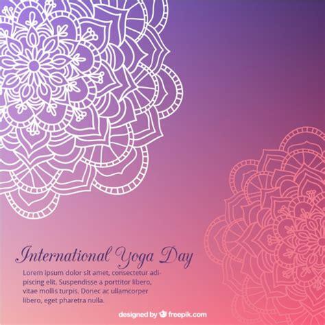 descargar imagenes yoga gratis fondo de yoga morado con mandalas dibujados a mano