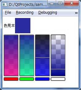 qt layout border color qml qt でカラーピッカーを作ってみた 理ろぐ