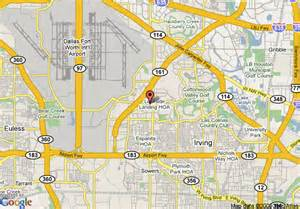 map of crossland dallas irving irving