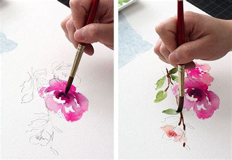 tutorial watercolor flowers watercolor tutorial part 5 mediums and techniques the