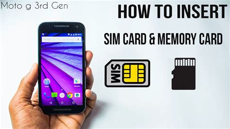 how to make sd card work again moto g 3rd how to insert sim card memory card 3g