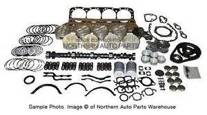 chevy 350 1981 1985 master overhaul kit complete rebuild