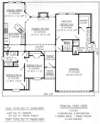 3 bedroom 2 bath 2 car garage floor plans marvelous 2 bedroom and bathroom house plans 3 br bath