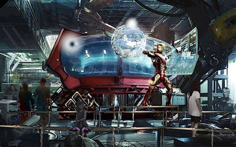 disneys avengers themed roller coaster feature