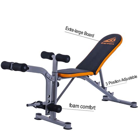 weight bench incline decline tnp accessories folding flat incline decline utility
