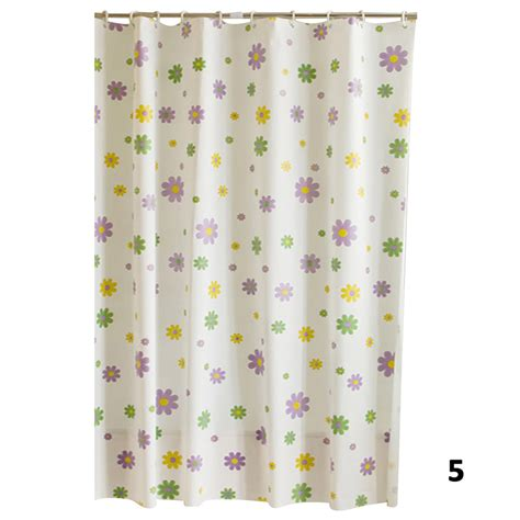 Modern Shower Curtains Modern Designer Sea Shell Peva Bathroom Shower Curtain 12 Ring Hooks 70 8 Ebay