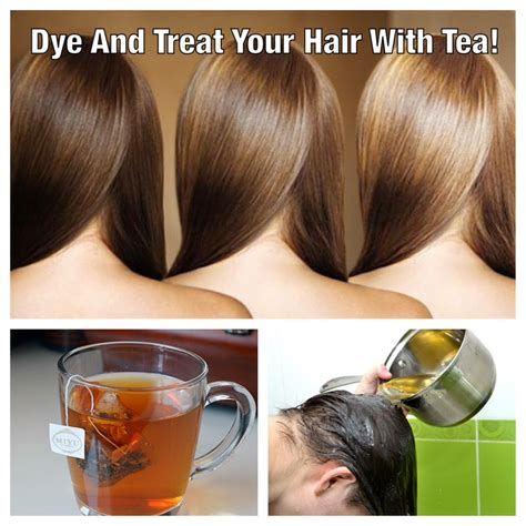 can you wash your hair before you color it dye and treat your hair with tea trusper