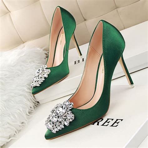 Wedding Green Shoes by Best 25 Blue High Heels Ideas On
