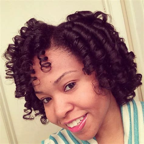 flexi rod hairstyles relaxed hair 1000 images about flexi rod hairstyles on pinterest