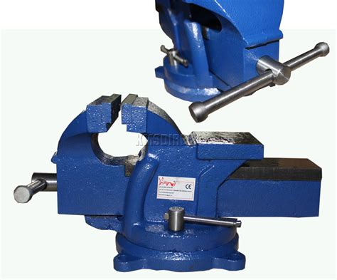 bench vice uk foxhunter swivel base bench vice vise jaw cl for