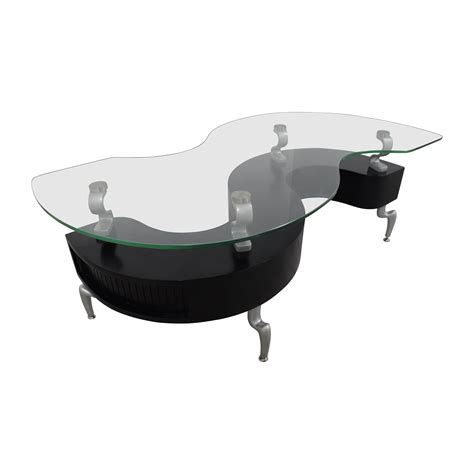 s shaped coffee table 88 contemporary s shaped contemporary coffee table