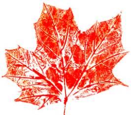 eek leaf printing