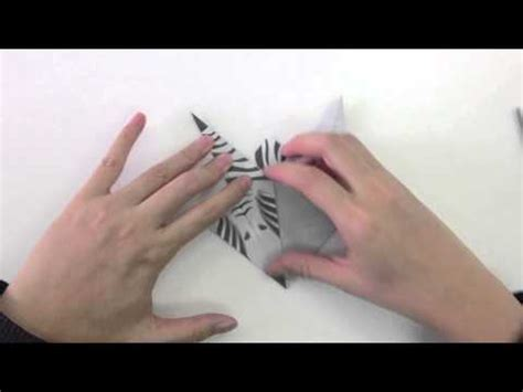 How To Make A Paper Zebra - origami zebra