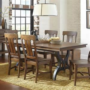 Dining Room Table Leaf intercon the district dining table with leaf hudson s