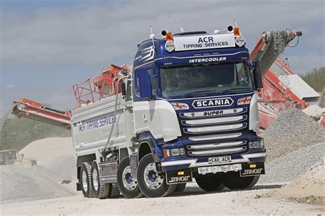 stop you in your tracks scania thompsons tipper truck