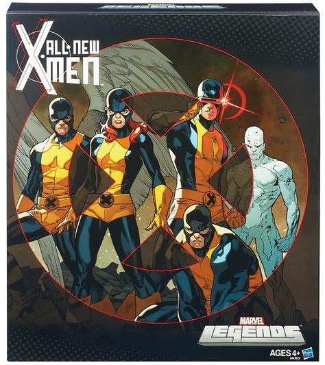 All New Xmen 5 Pack Marvel Legends Hasbro Mib marvel legends 2014 all new 6 quot tru exclusive 5