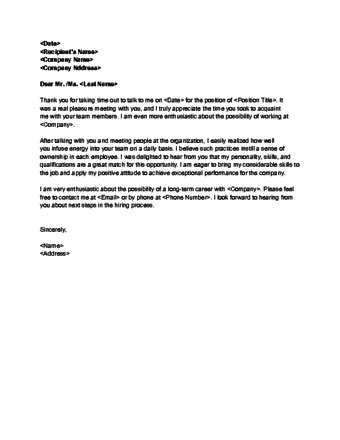 thank you letter for conducted how to write an thank you note with exles