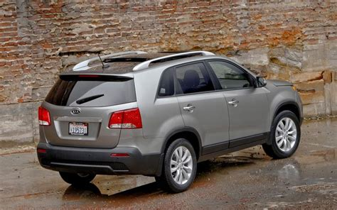 Kia Sorento 2011 Mpg 2011 Kia Sorento Reviews And Rating Motor Trend