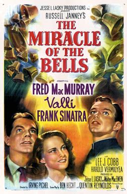 The Miracle Of The Bells Free File The Miracle Of The Bells 1948 Poster Png