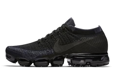 adidas vapormax nike vapormax triple black release date info sneakernews com