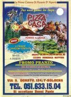 pizza casa bologna pizza casa via san donato a bologna 249 prezzi