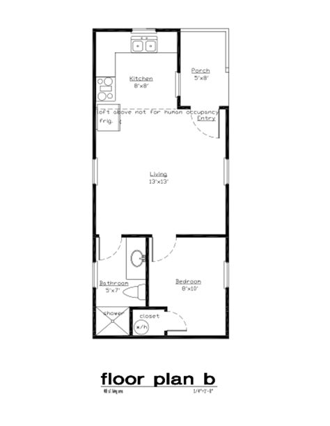 Elk Floor Plans For A 12 X 32 House