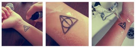 How To Make Temporary Tattoos With Tracing Paper - you can