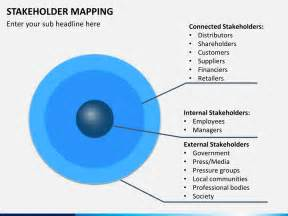 Stakeholders Map Template by Stakeholder Mapping Powerpoint Template