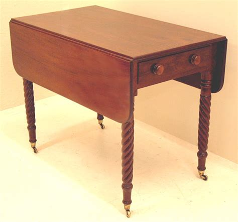 Antique Drop Leaf Table Antique American Sheraton Drop Leaf Pembroke Table Item 4032 For Sale Antiques
