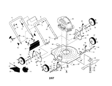 Briggs And Stratton Lawn Mower Model 90000 - schematic briggs and stratton 550ex get free image about
