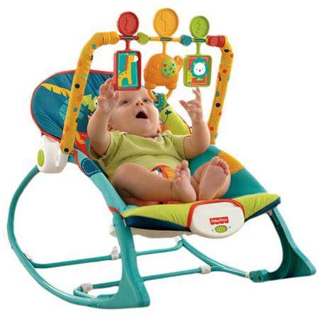 Walmart Baby Bouncy Chair - fisher price infant to toddler rocker sleeper safari