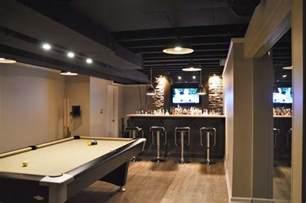 black painted basement ceiling vs white painted basement