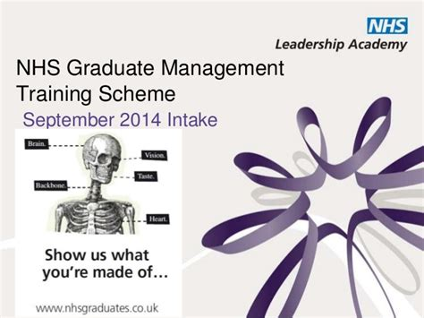 design management graduate schemes nhs graduate management training scheme 2014