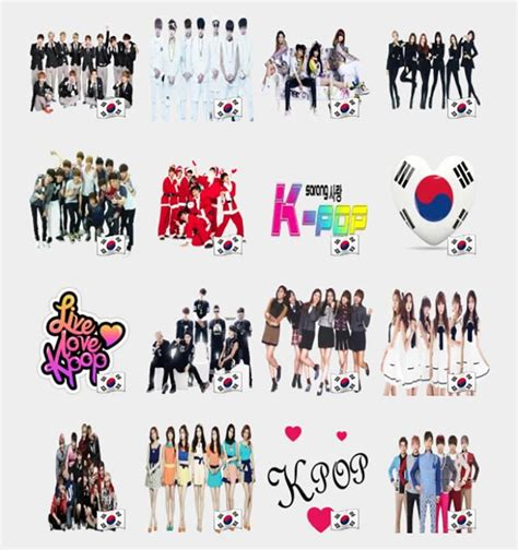 tema instagram gratis kpop k pop stickers set telegram stickers telegram stickers