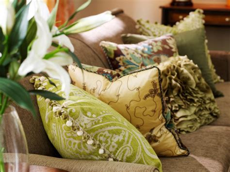 with pillows decorating with pillows hgtv