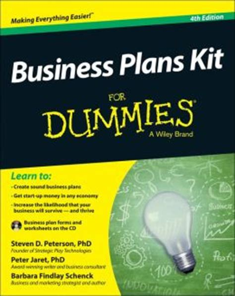 home design for dummies business plans kit for dummies by steven d peterson