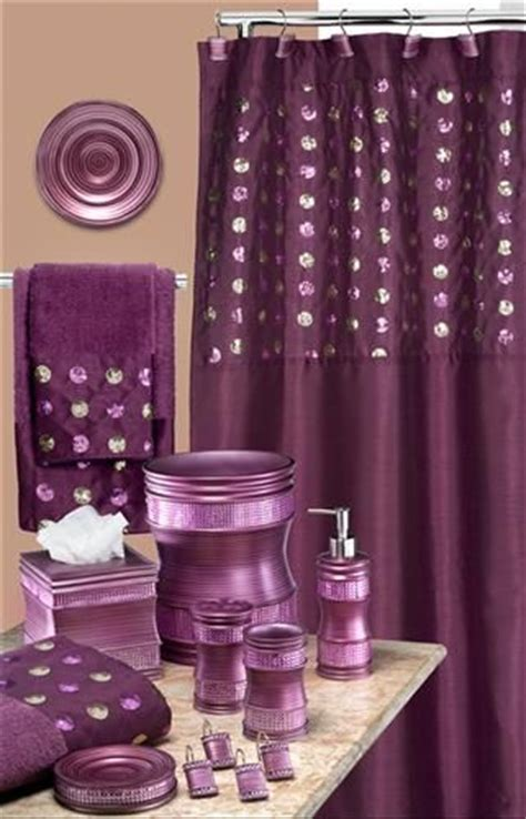 purple sequin shower curtain sequins purple shower curtain bathroom ideas pinterest