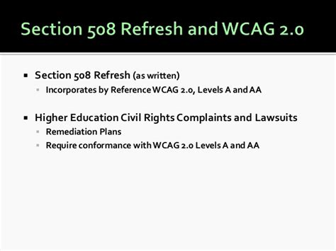 section 508 checker 10 tips for creating accessible web content with wcag 2 0