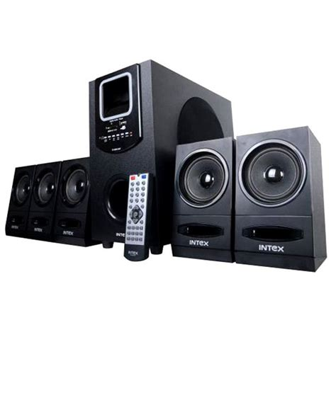 intex it 4200 suf 5 1 speaker system price in india 27 dec