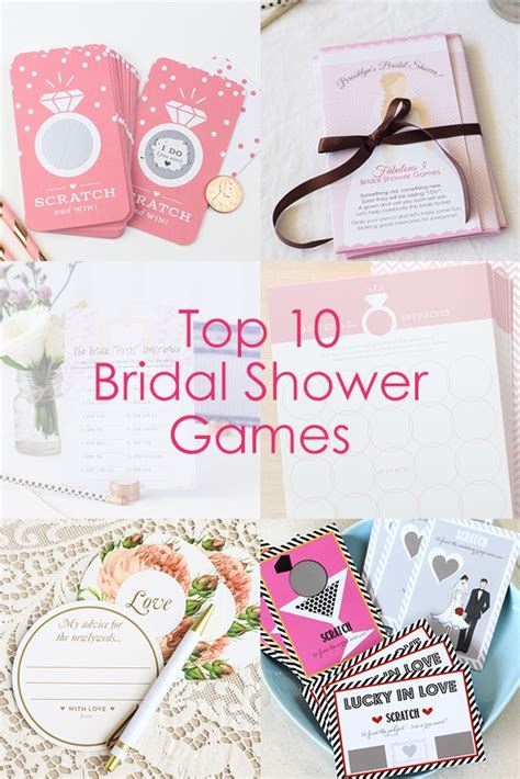 top 10 to play at a bridal shower top 10 bridal shower beau coup