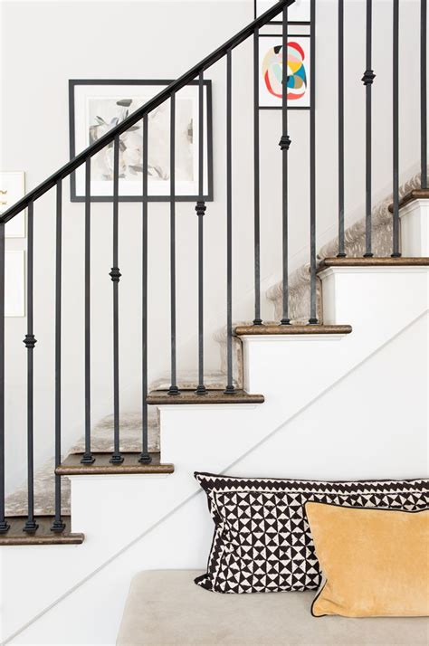 Iron Banister Rails by 25 Best Ideas About Iron Stair Railing On