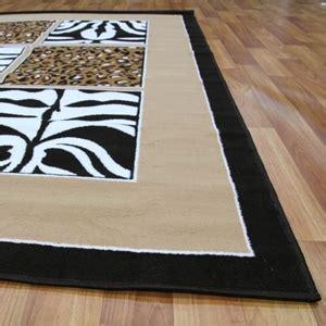 Zebra Print Rug Australia by Buy Modern Zebra Print Black And White Rug 230x160cm