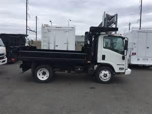 Isuzu Npr Dump Truck 2016 Isuzu Npr Efi 11 Ft Dump Landscape Truck