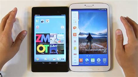 samsung galaxy tab 3 8 0 vs nexus 7 2nd